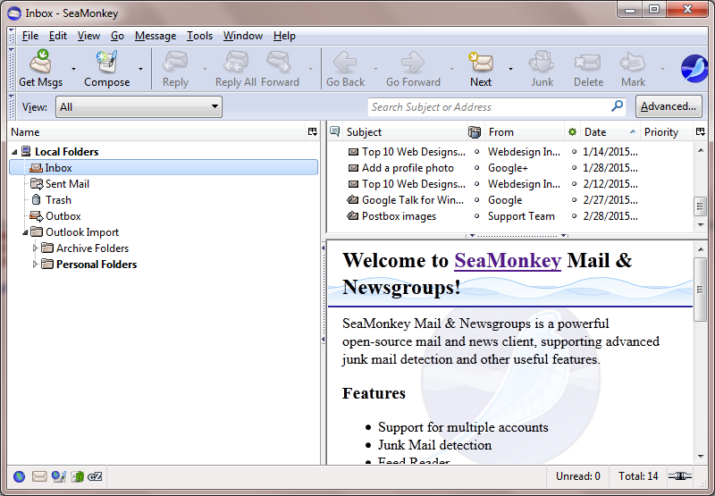 Export Emails From SeaMonkey to PDF – Get Step-by-Step Guidance
