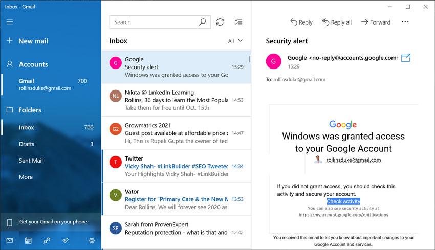 Convert Windows Live Mail to Windows 10 Mail